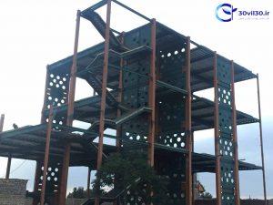 دانلود رایگان پاورپویت دیوار برشی فولادی